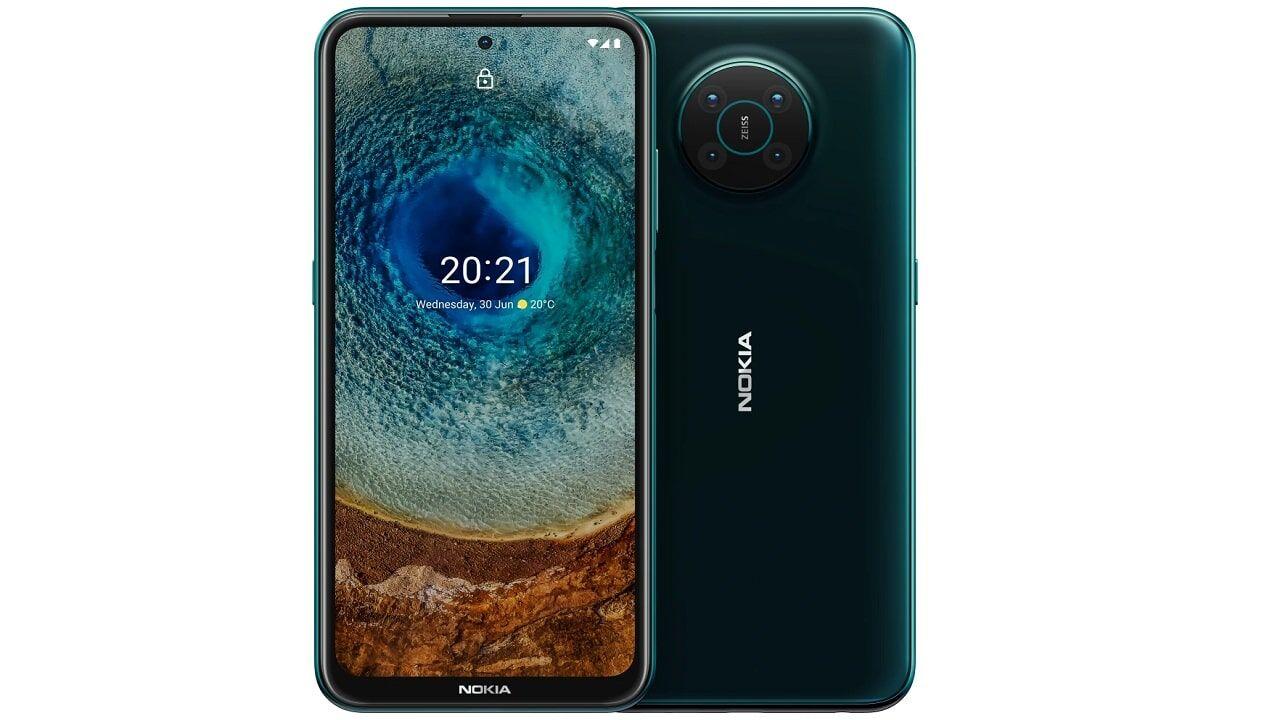 Nokia X10 Dual Sim 5G 4GB RAM 128GB - Forest