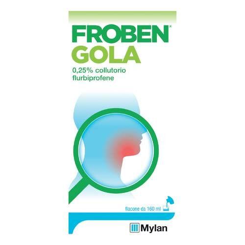 Mylan Italia Srl Froben Gola*collut 160ml 0,25%