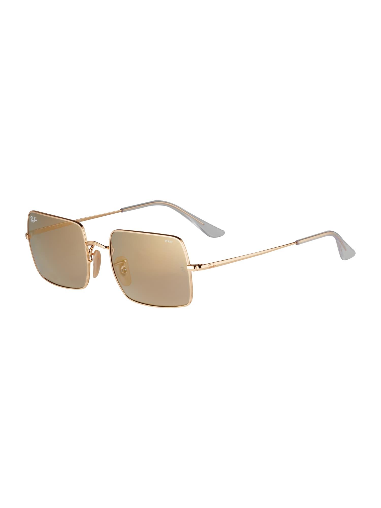 ray-ban occhiali da sole 'rb 1969 001/b3' oro