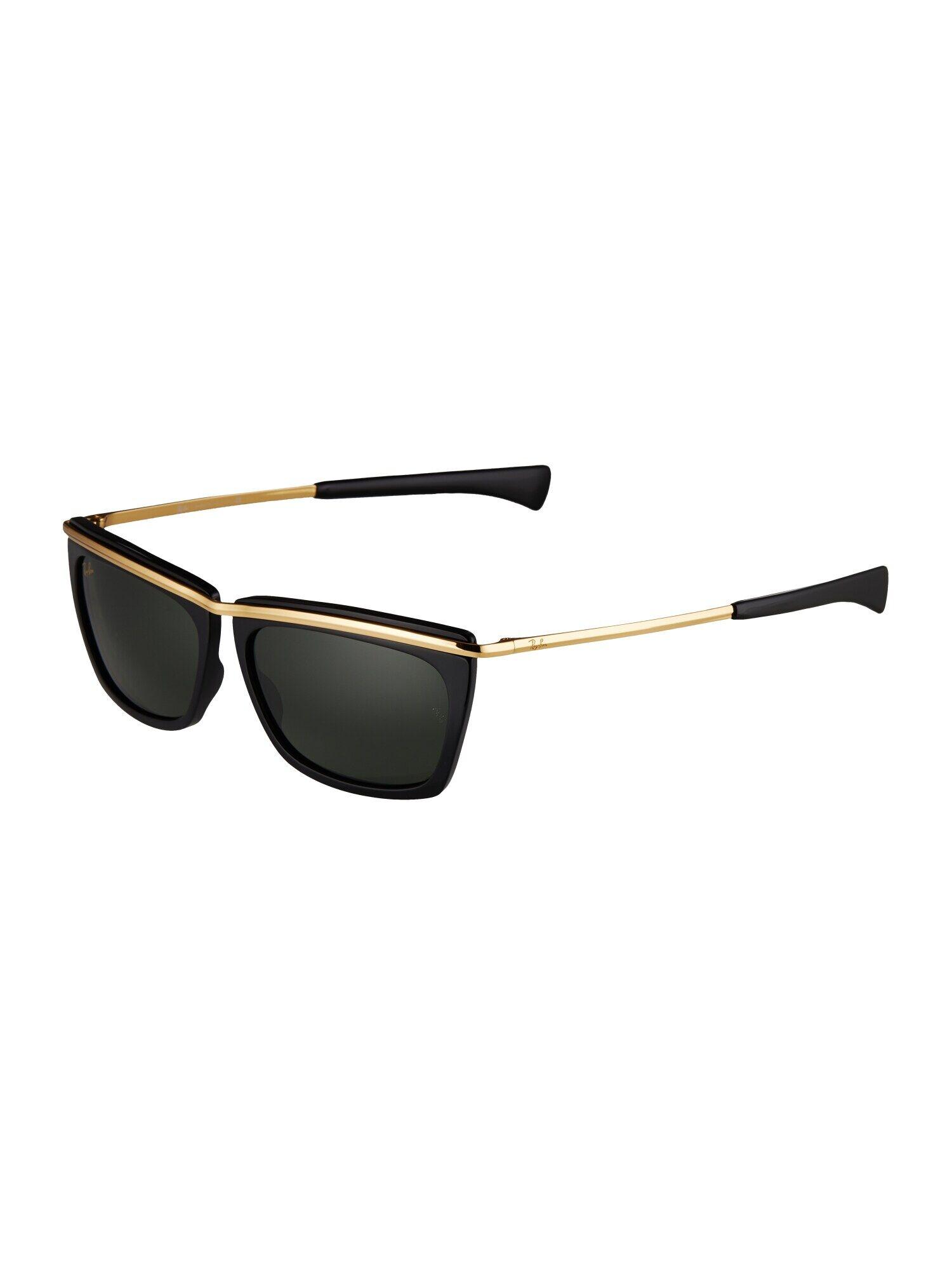 ray-ban occhiali da sole 'olympian ii' nero