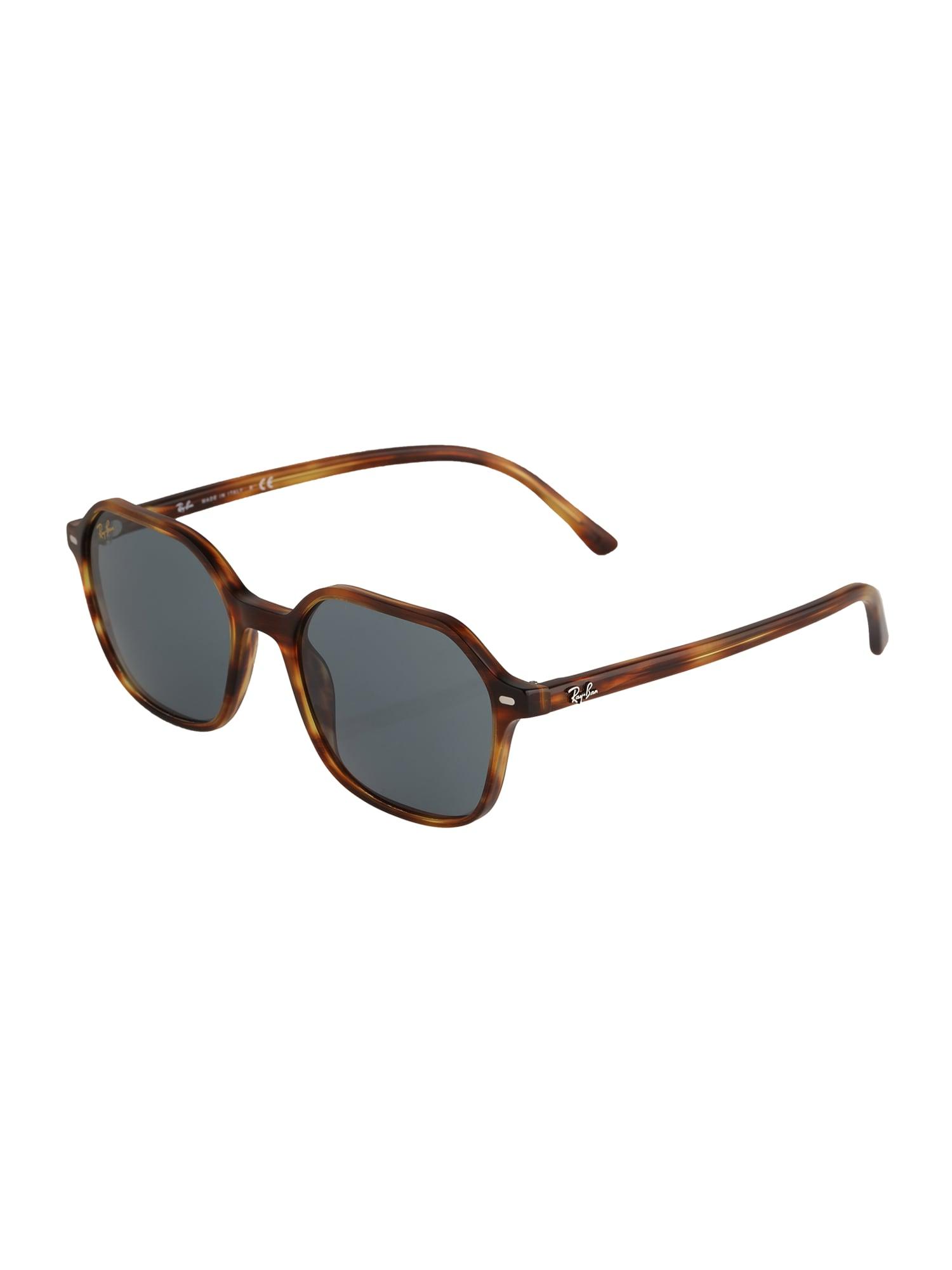 ray-ban occhiali da sole 'john' marrone