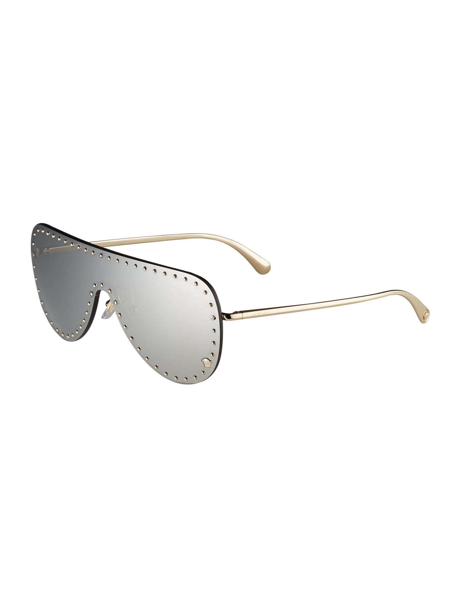versace occhiali da sole '2230b' grigio
