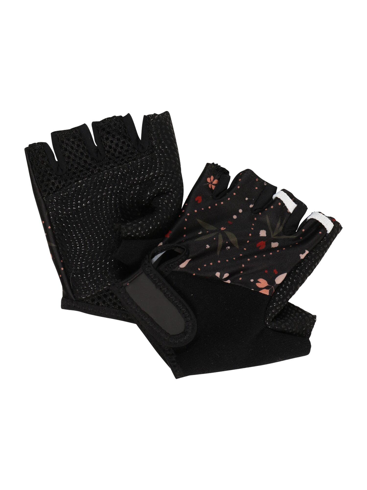 maloja guanti sportivi 'stechpalme' nero