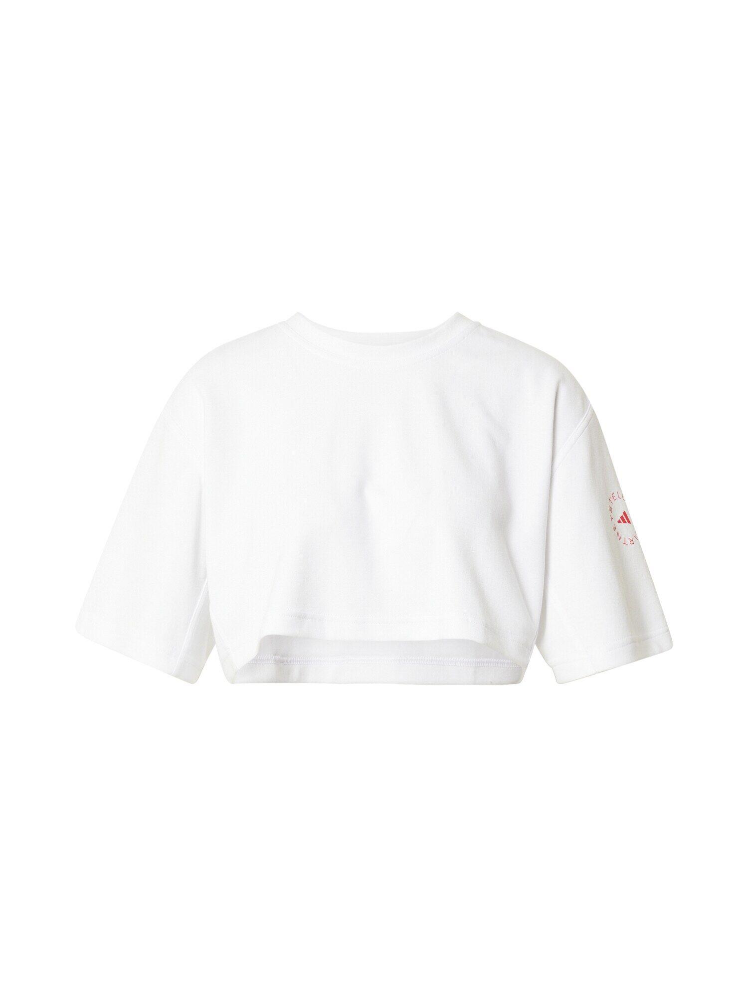 adidas by stella mccartney maglia funzionale bianco