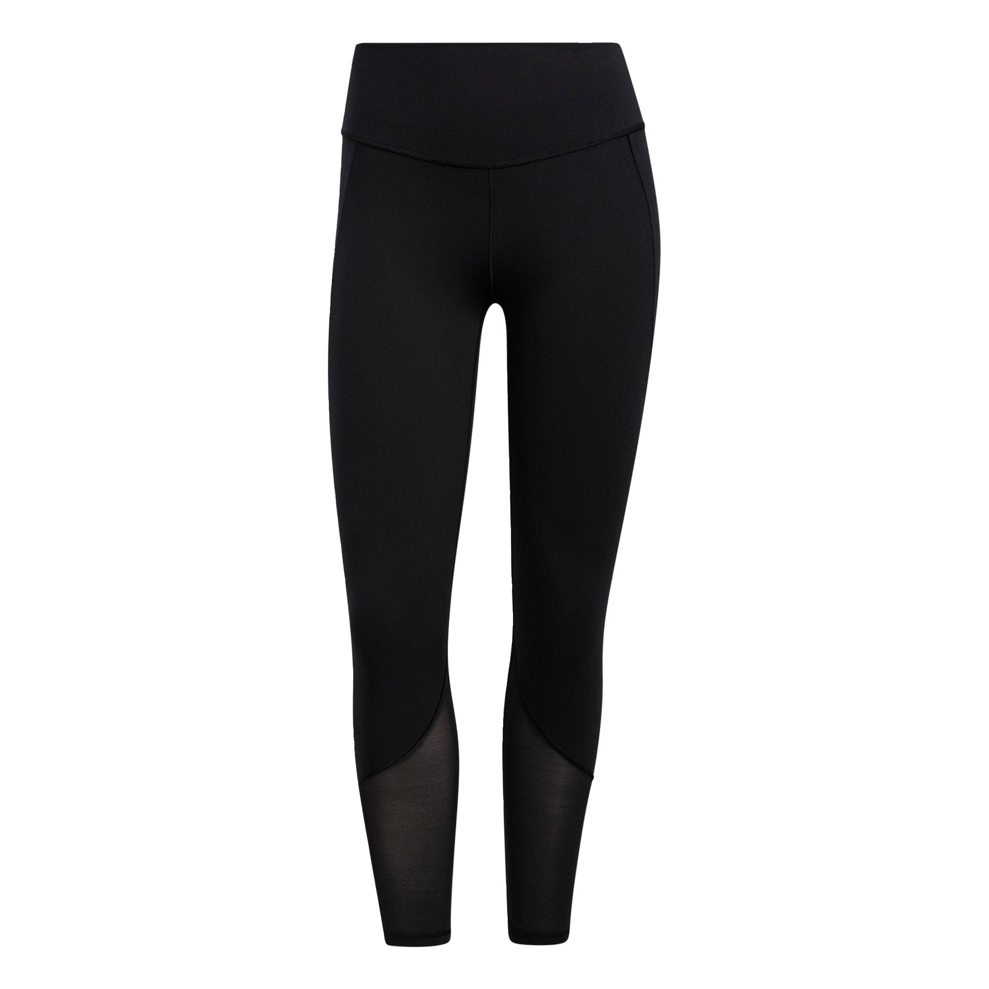 adidas performance pantaloni sportivi 'yoga power' nero