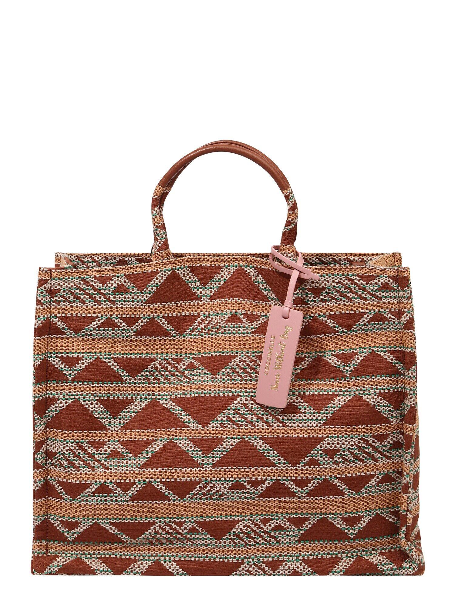 coccinelle shopper 'never without bag' colori misti