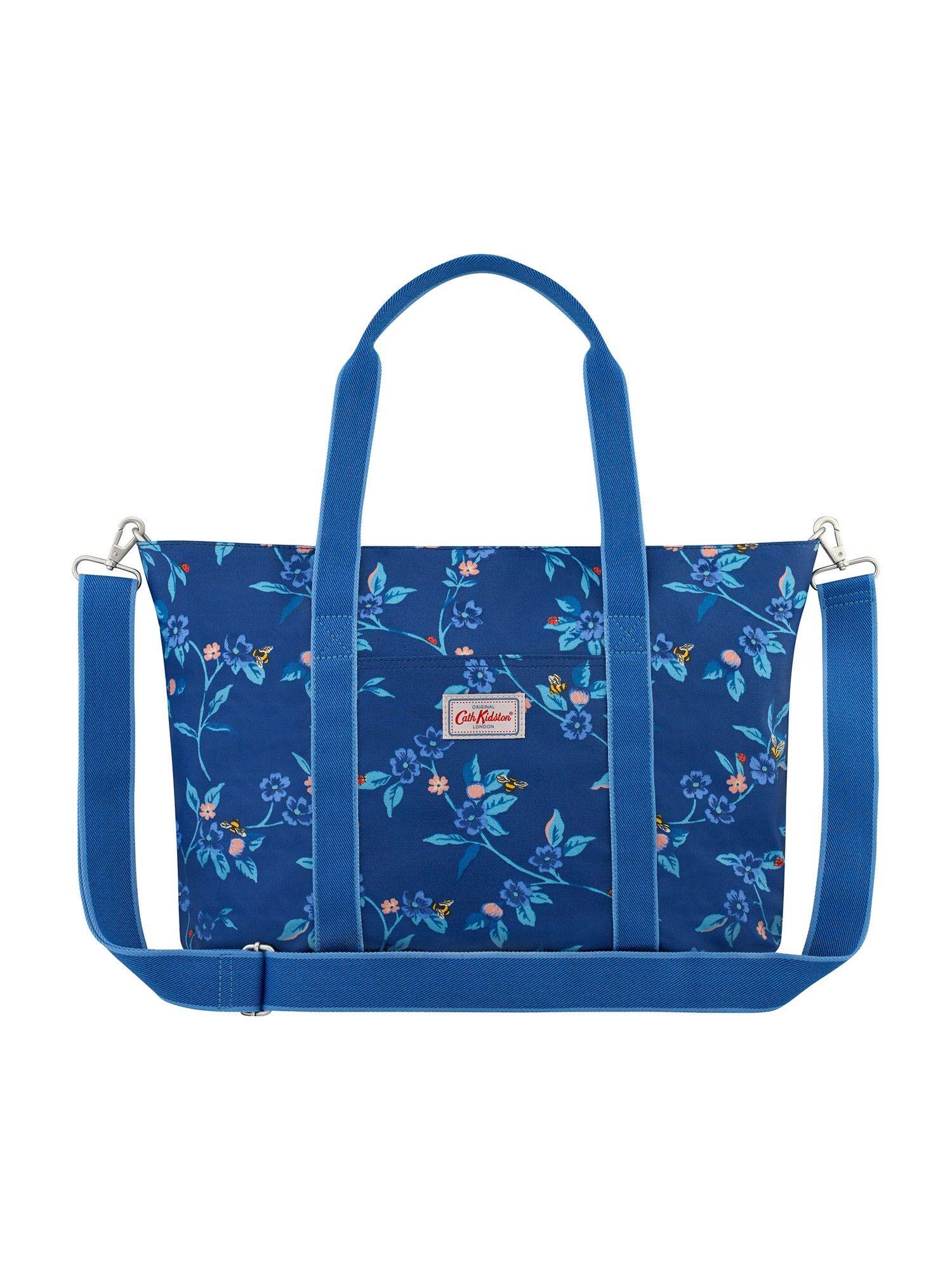 cath kidston borsa fasciatoio blu