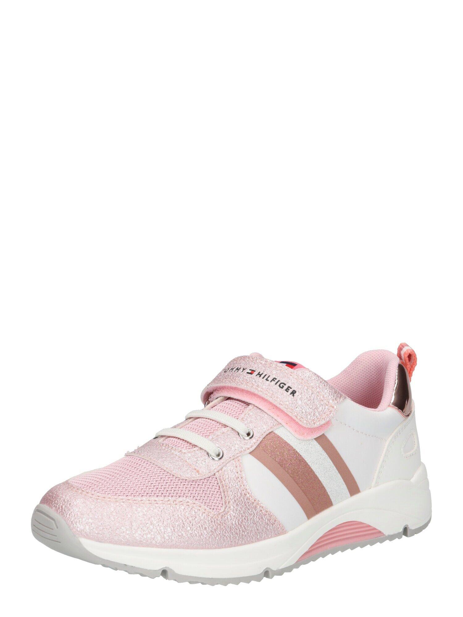 TOMMY HILFIGER Sneaker 'Velcro' Rosa