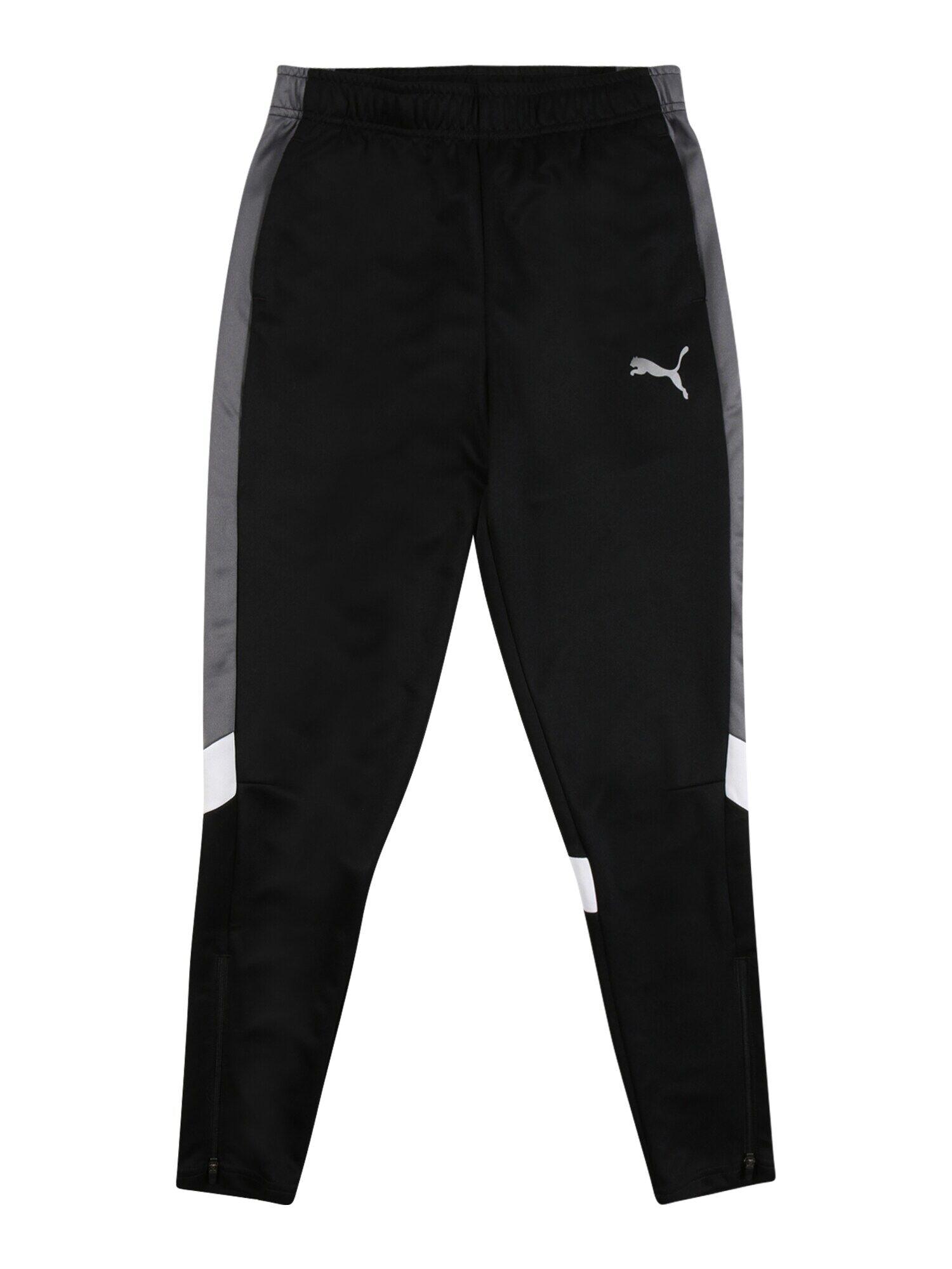puma pantaloni sportivi 'active' nero