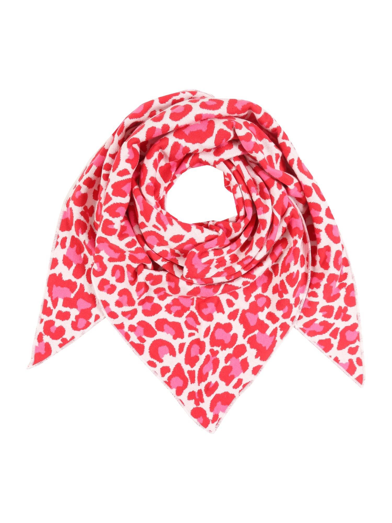 zwillingsherz foulard 'summer lacey ' rosa, rosso