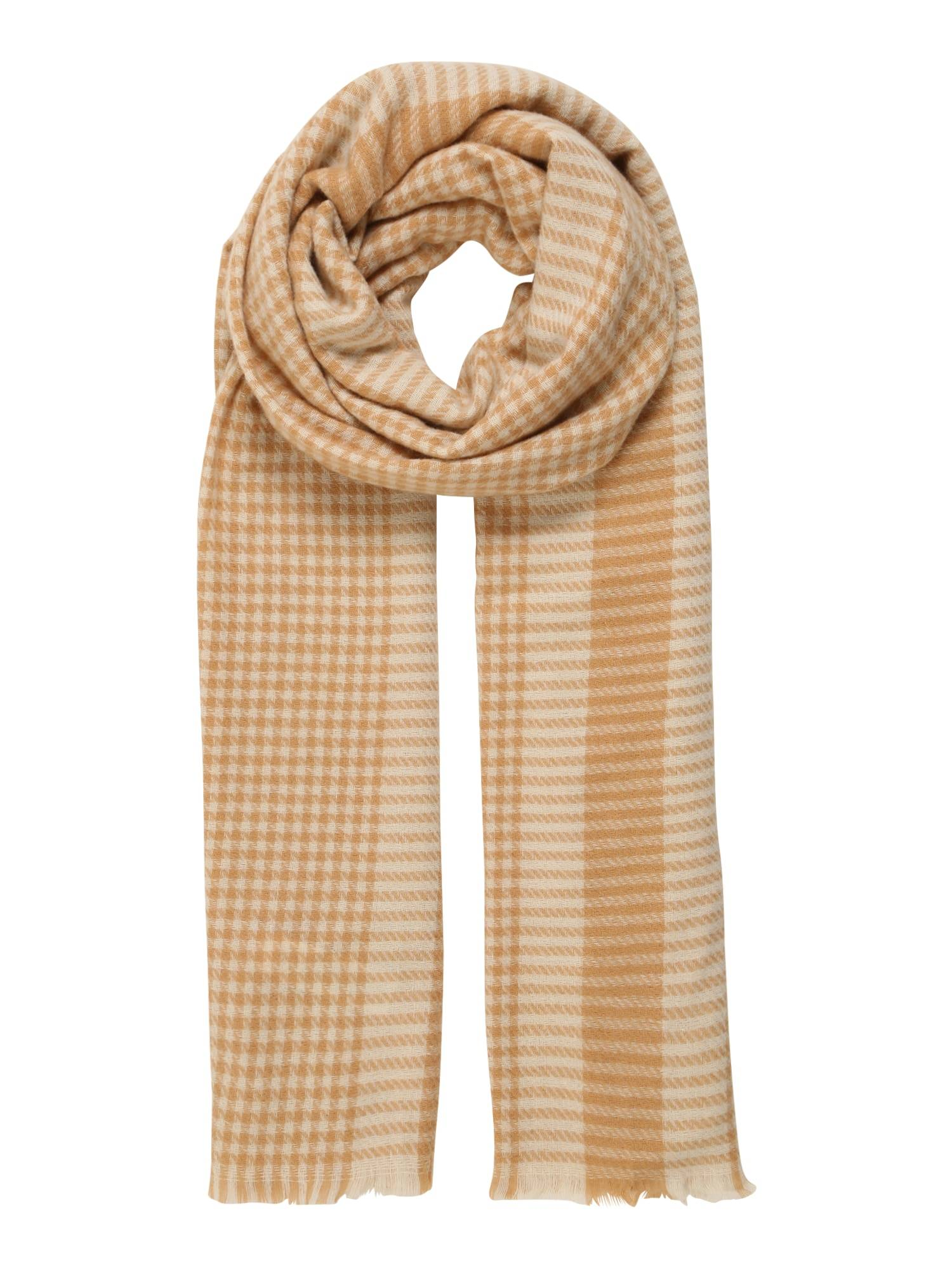 vero moda sciarpa 'karina' marrone
