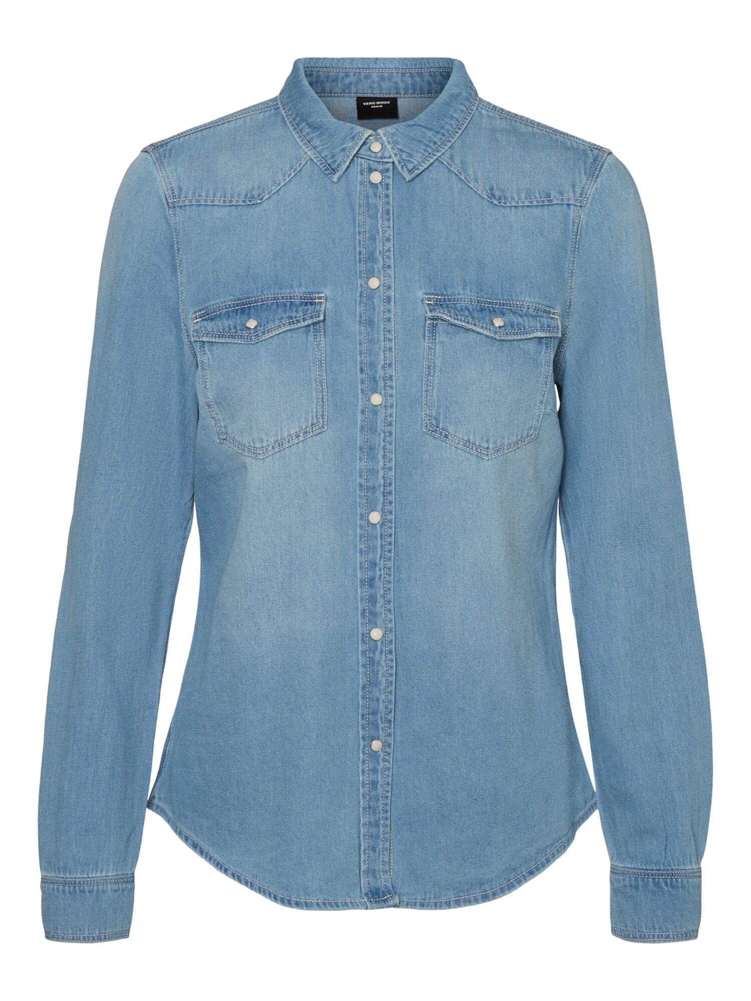 vero moda camicia da donna 'maria' blu
