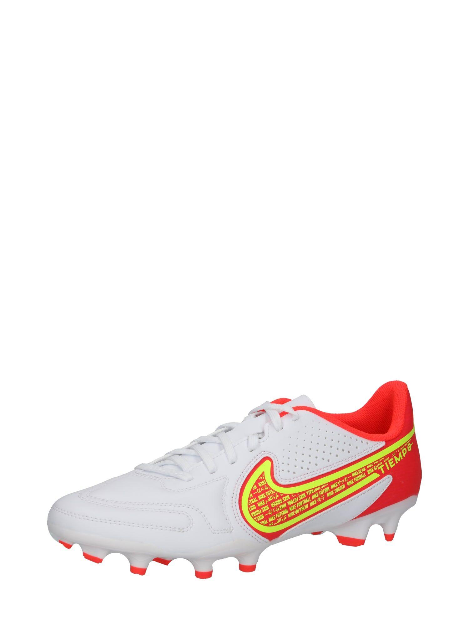 nike scarpa da calcio 'tiempo legend 9 club' bianco