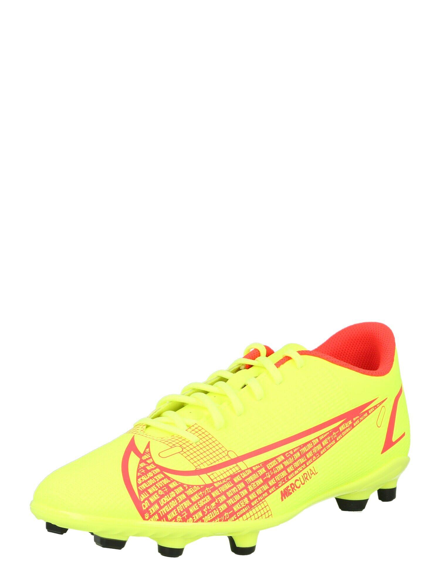 nike scarpa da calcio 'mercurial vapor 14 club' giallo