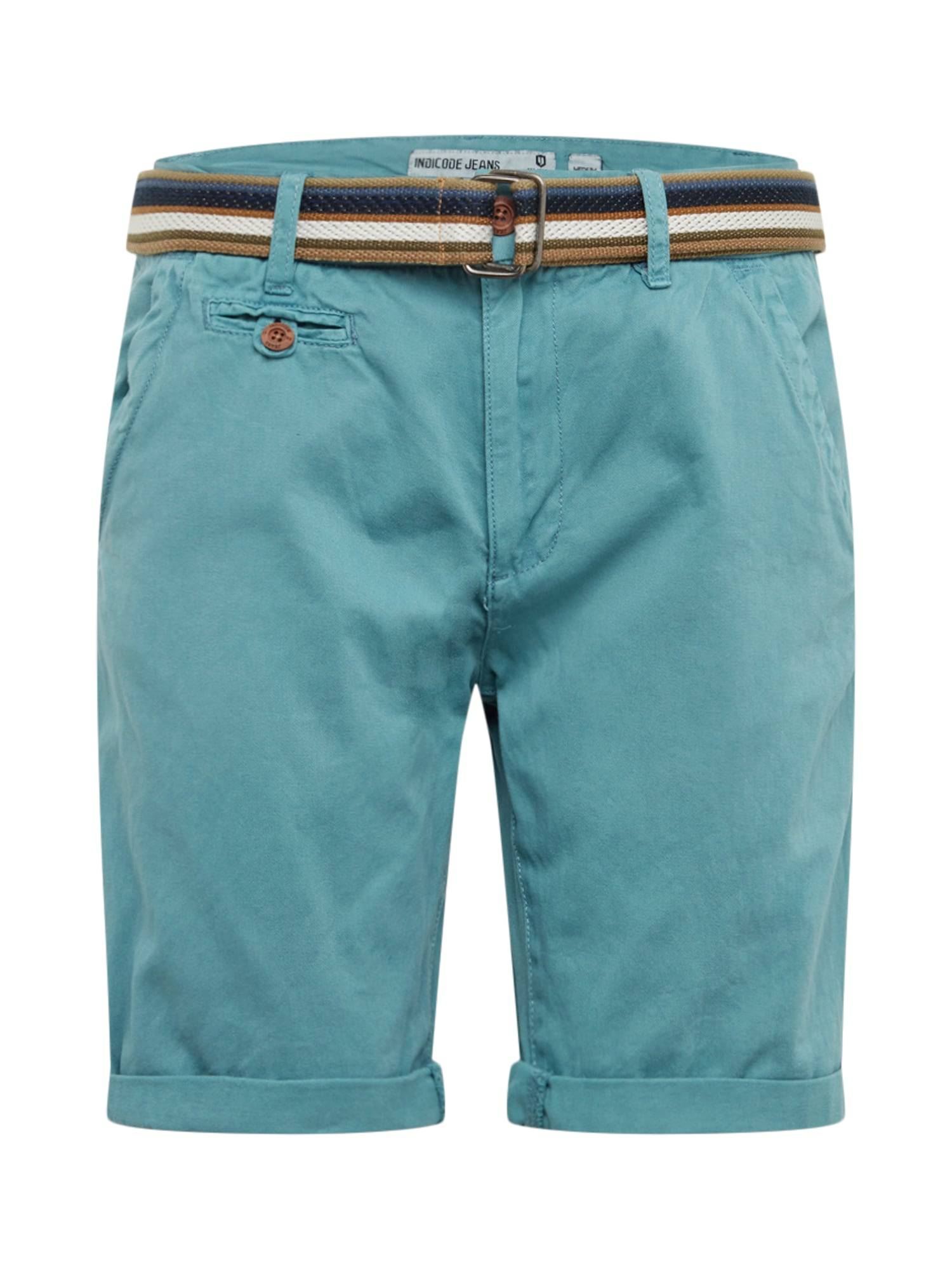 INDICODE JEANS Pantaloni chino 'Royce' Blu