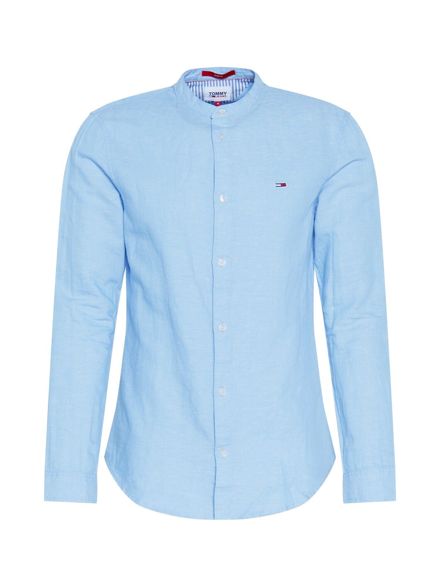 Tommy Jeans Camicia 'MAO' Blu