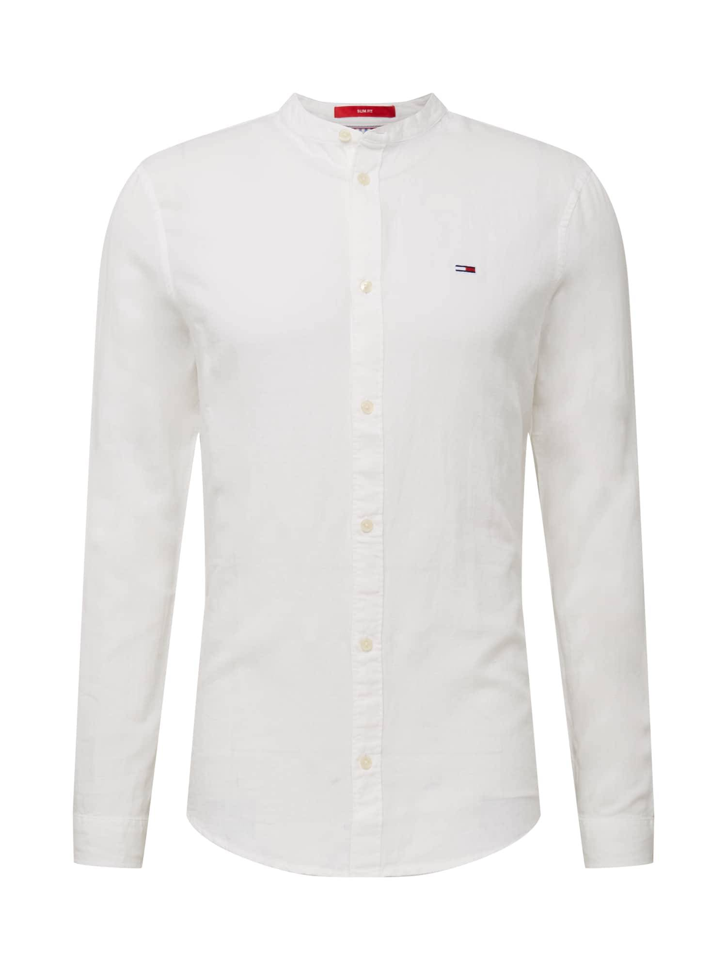 Tommy Jeans Camicia 'MAO' Bianco