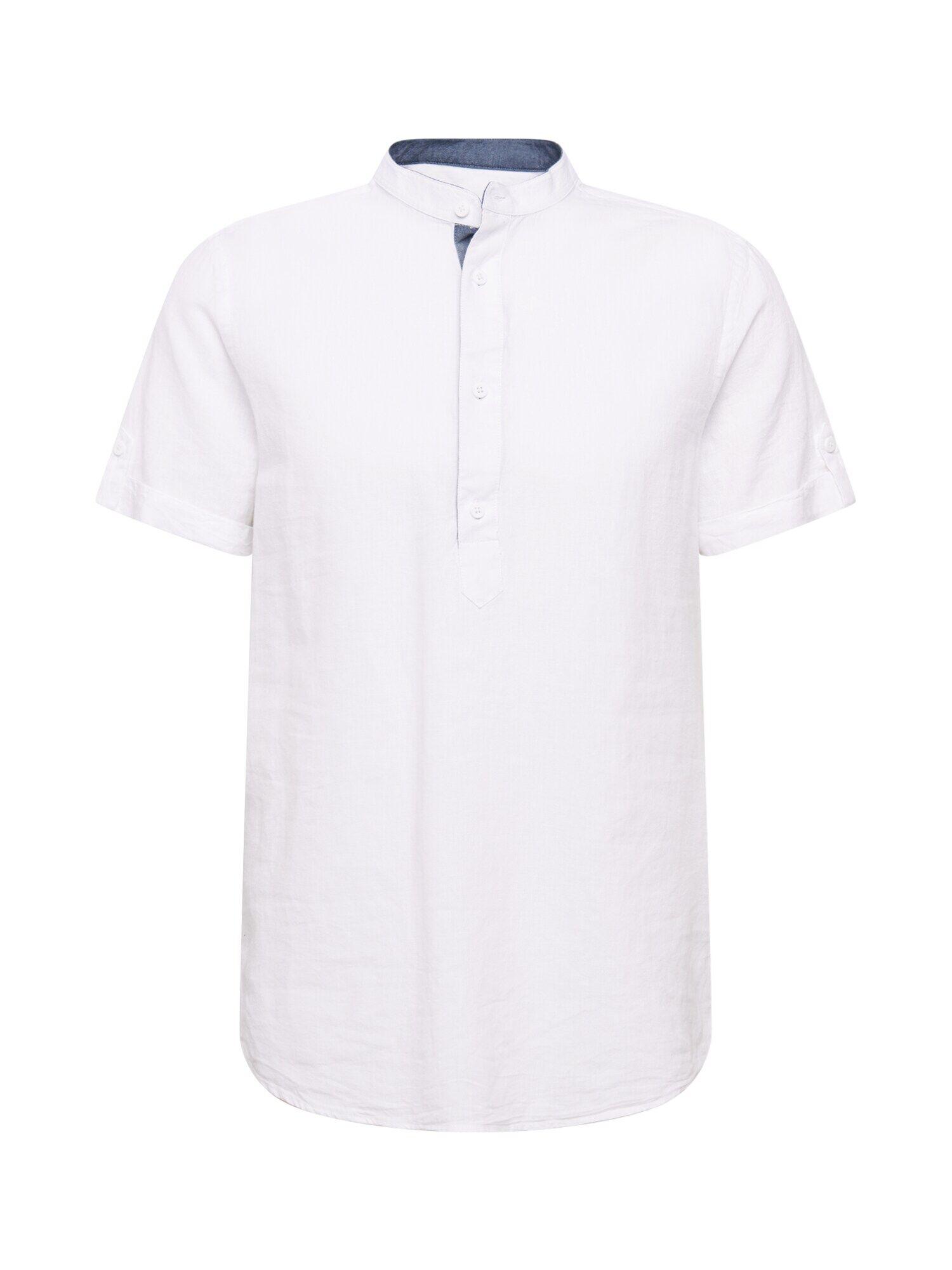 INDICODE JEANS Camicia 'Mao' Bianco