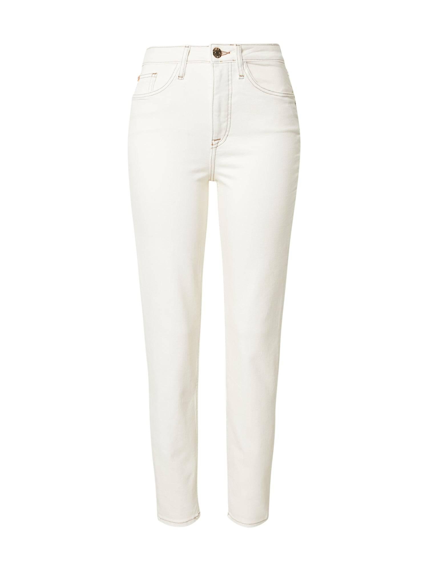 river island jeans 'donna' beige