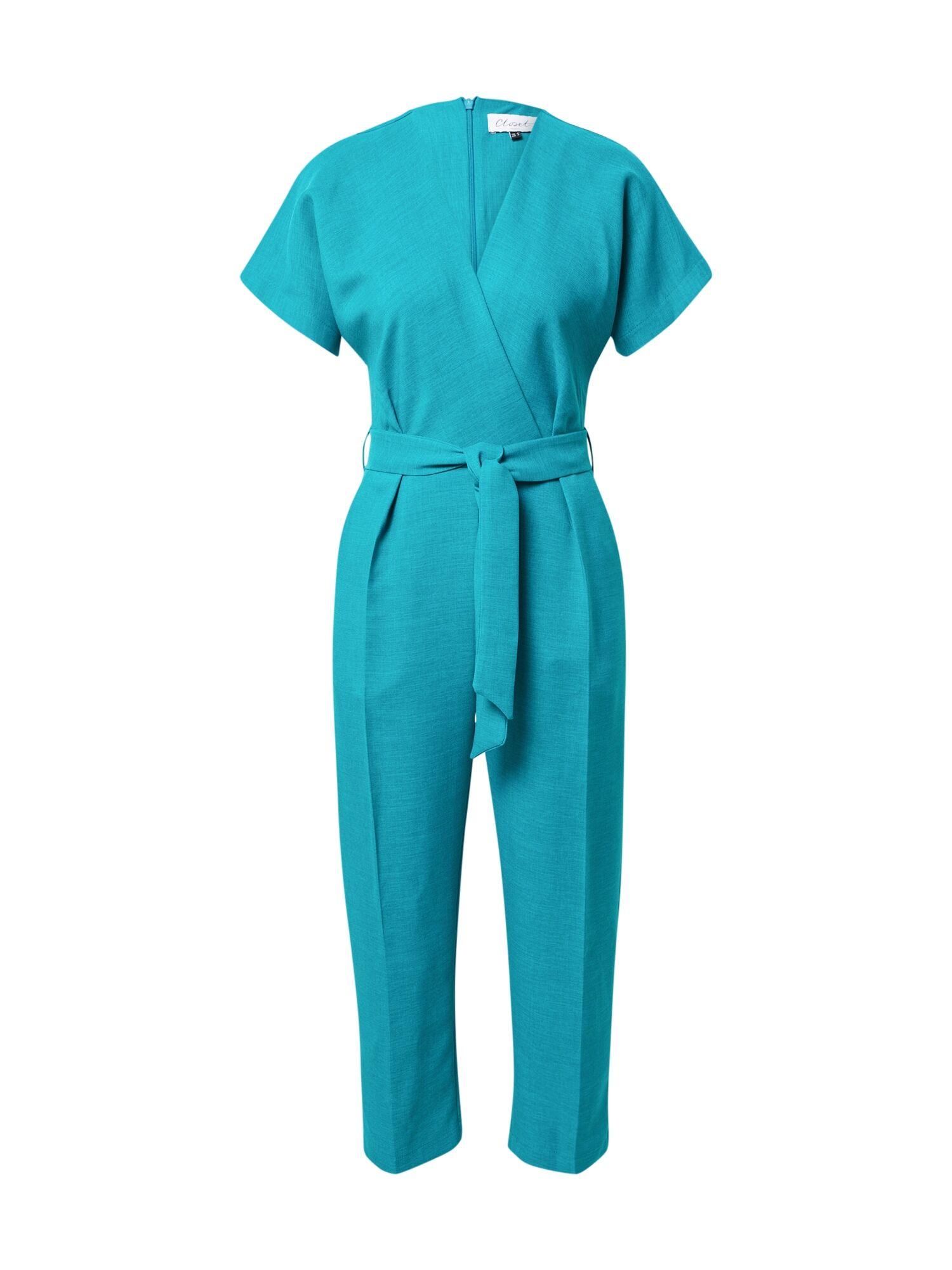 closet london tuta jumpsuit blu