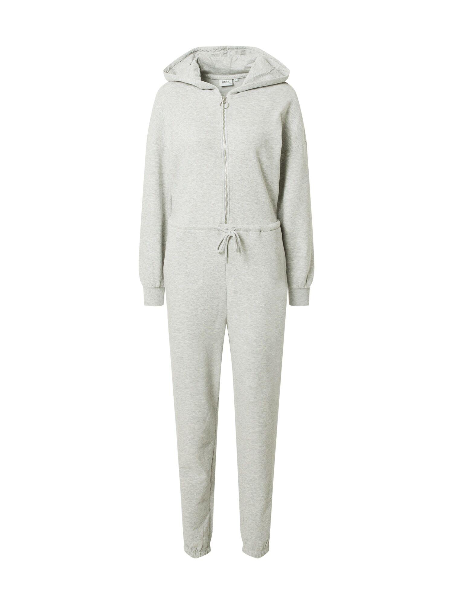 only tuta jumpsuit 'ess' grigio