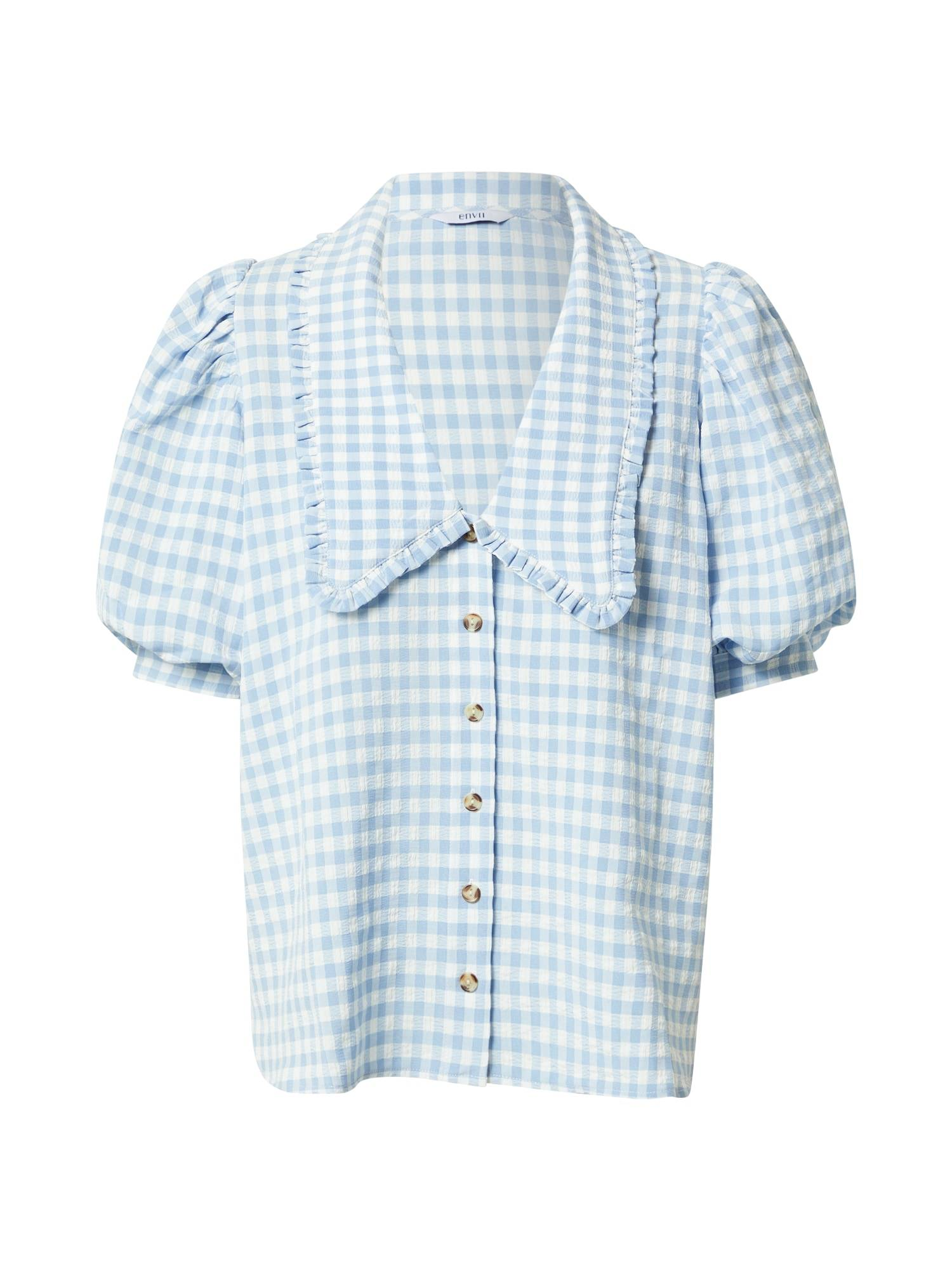 envii camicia da donna 'april' bianco, blu