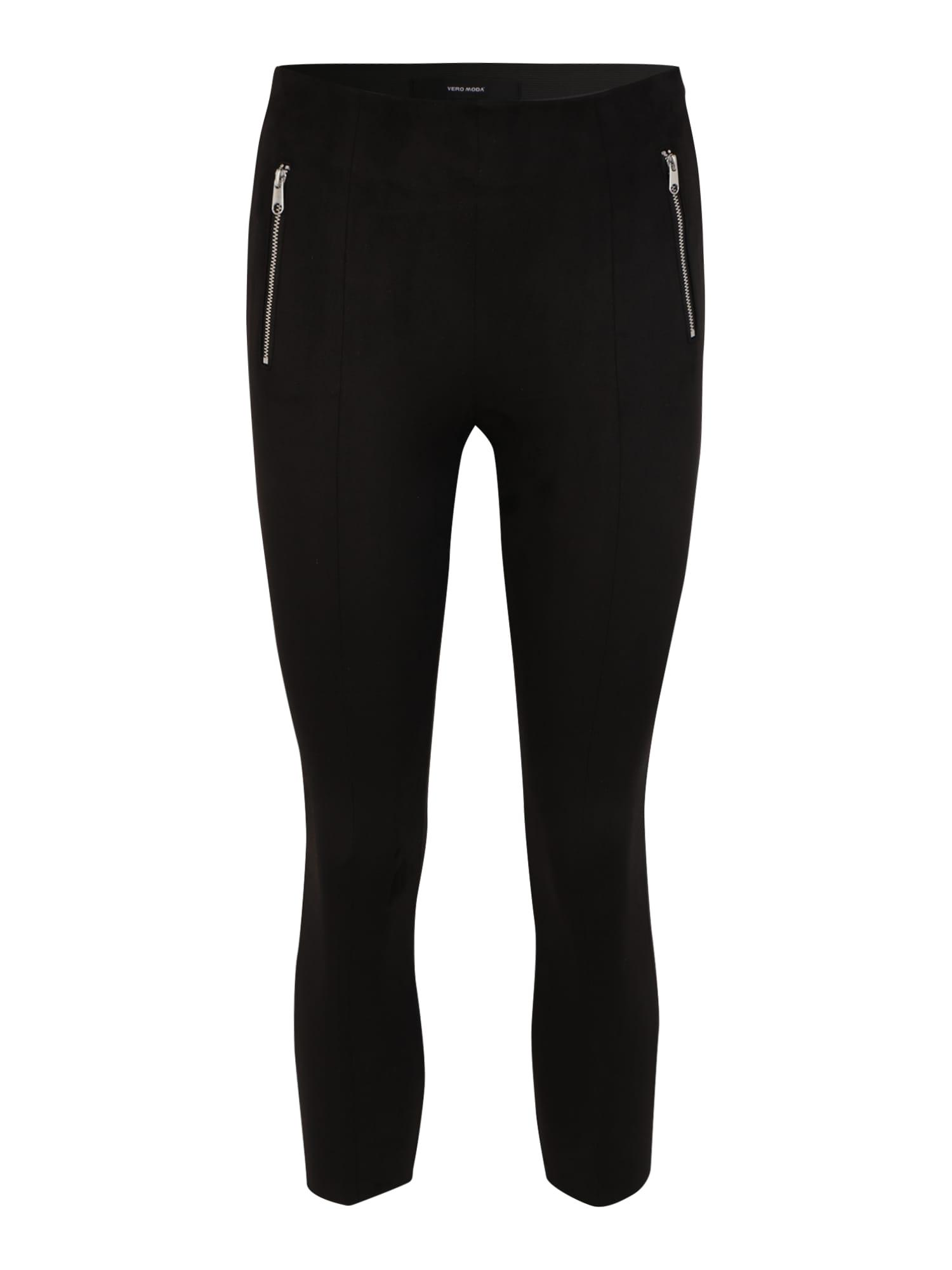 vero moda petite pantaloni 'donna dina' nero