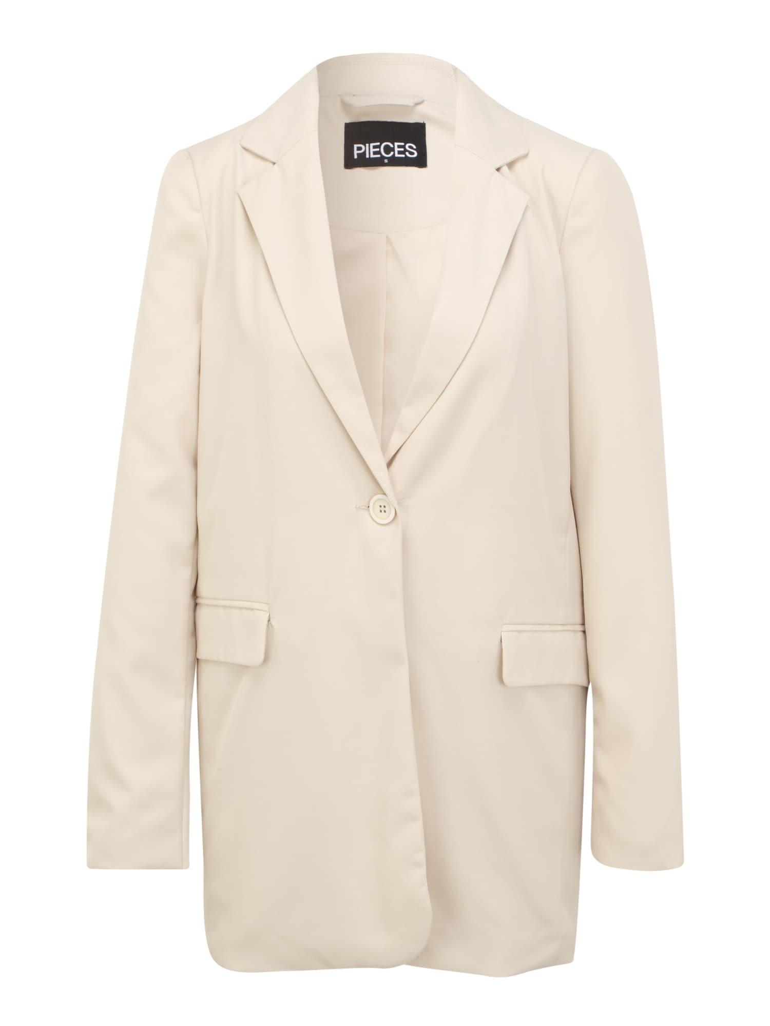 pieces tall blazer beige
