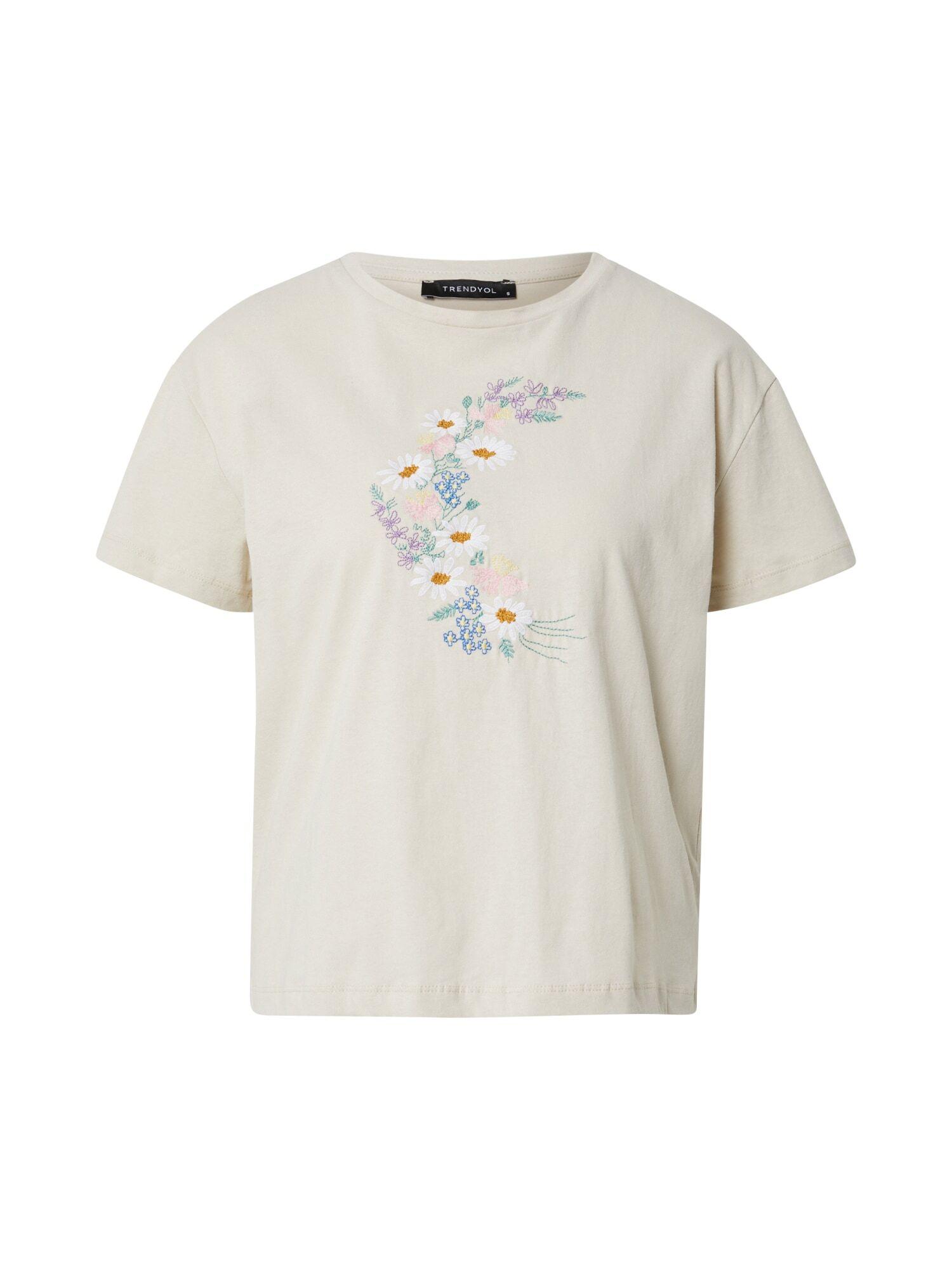 trendyol maglietta 't-shirt' beige