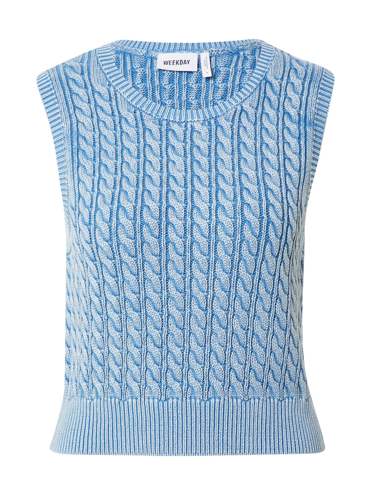 weekday pullover 'joy' blu