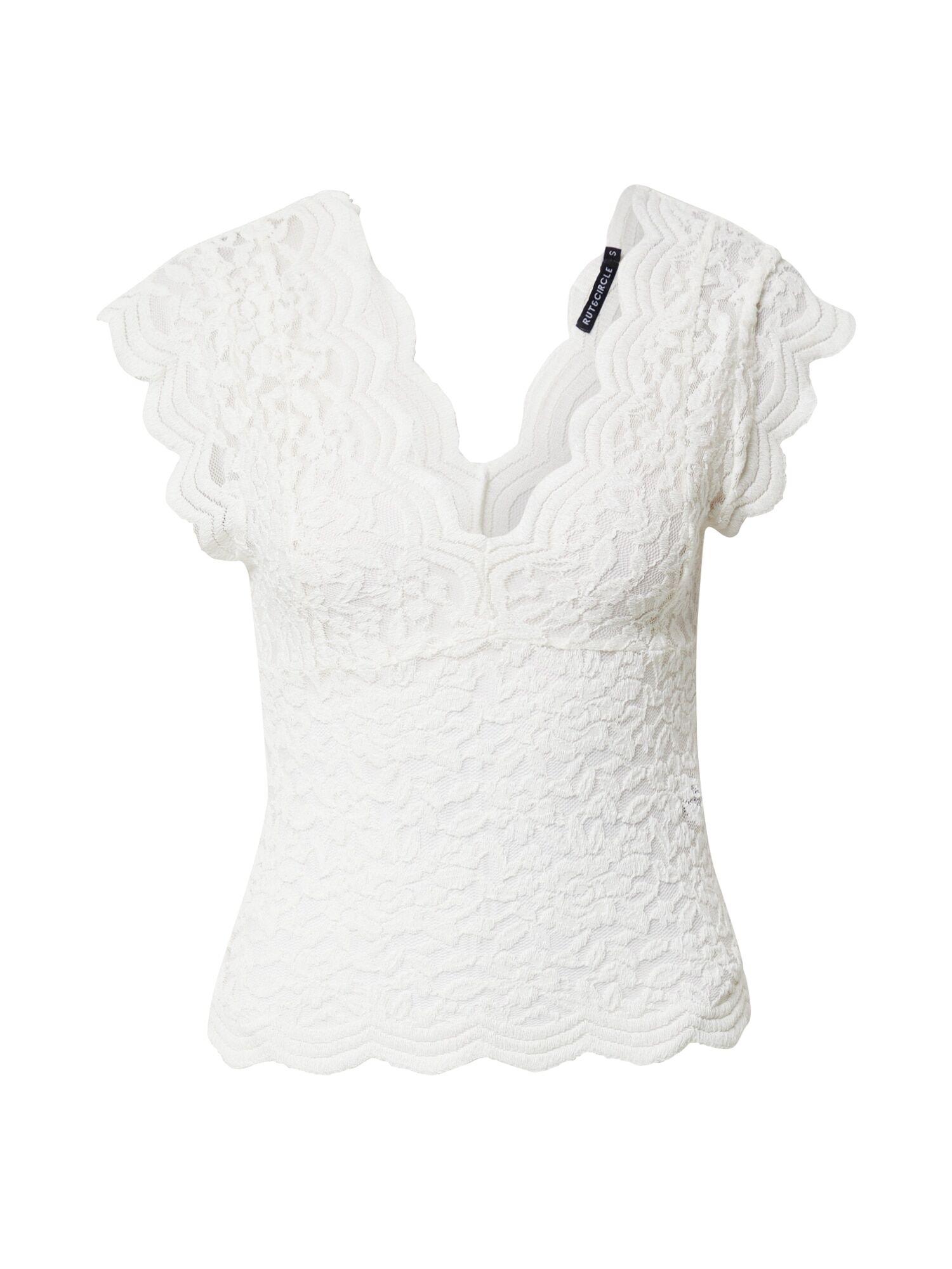 rut & circle camicia da donna 'vera' bianco