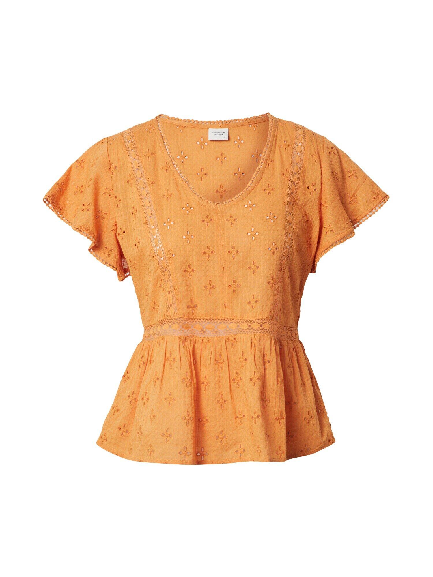 jdy camicia da donna 'vera' arancione