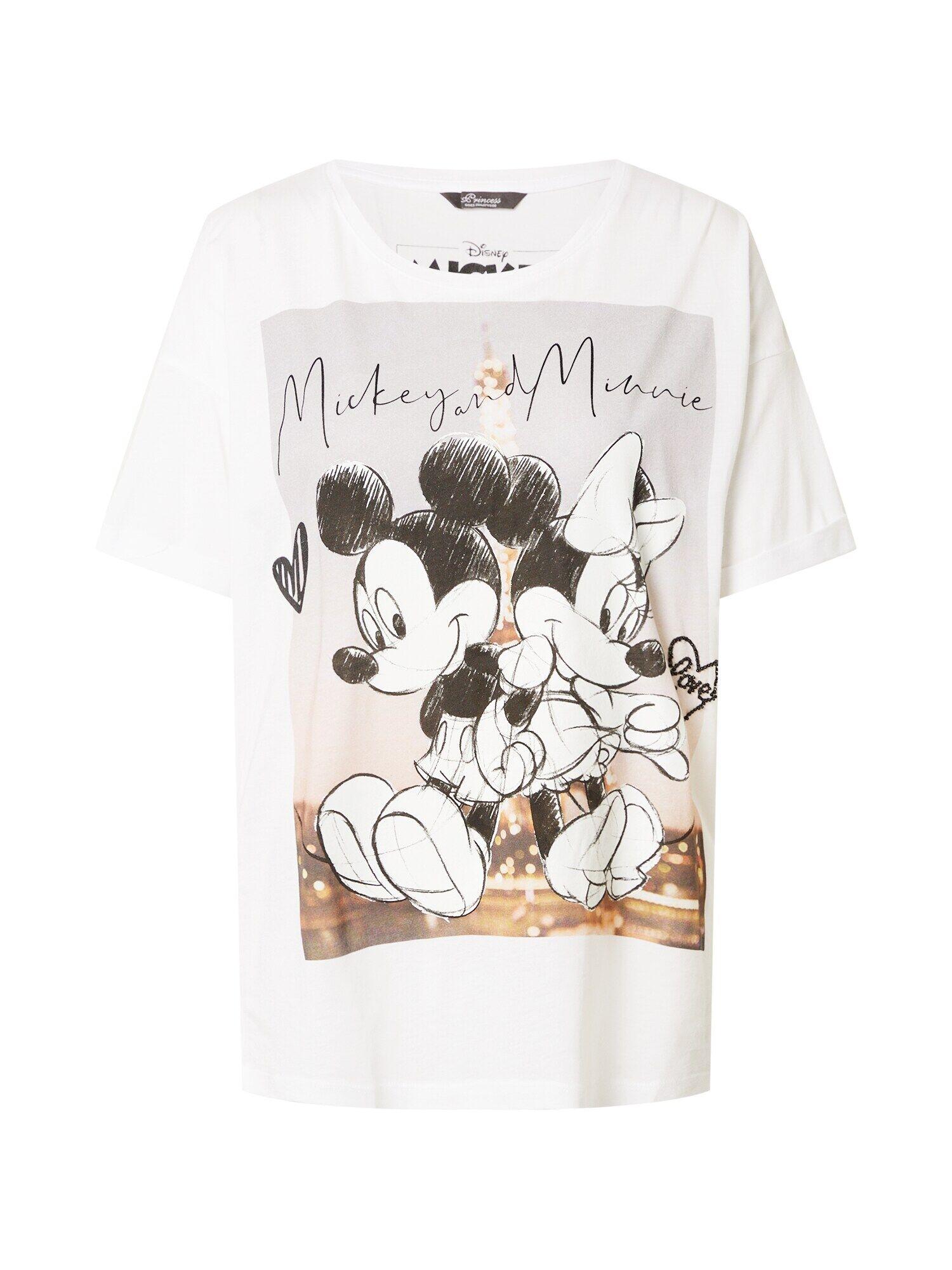 princess goes hollywood maglietta 'disney mickey&minnie paris' bianco