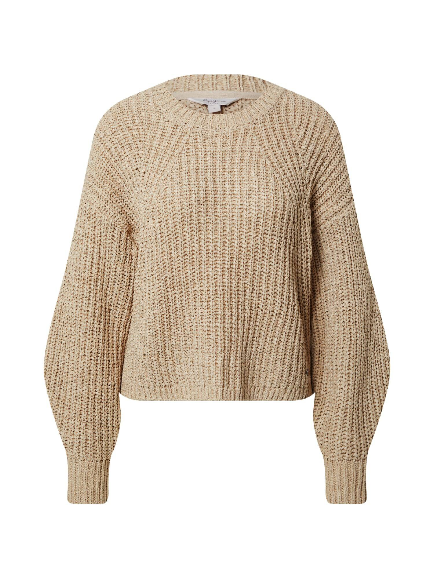 pepe jeans pullover 'anne' beige