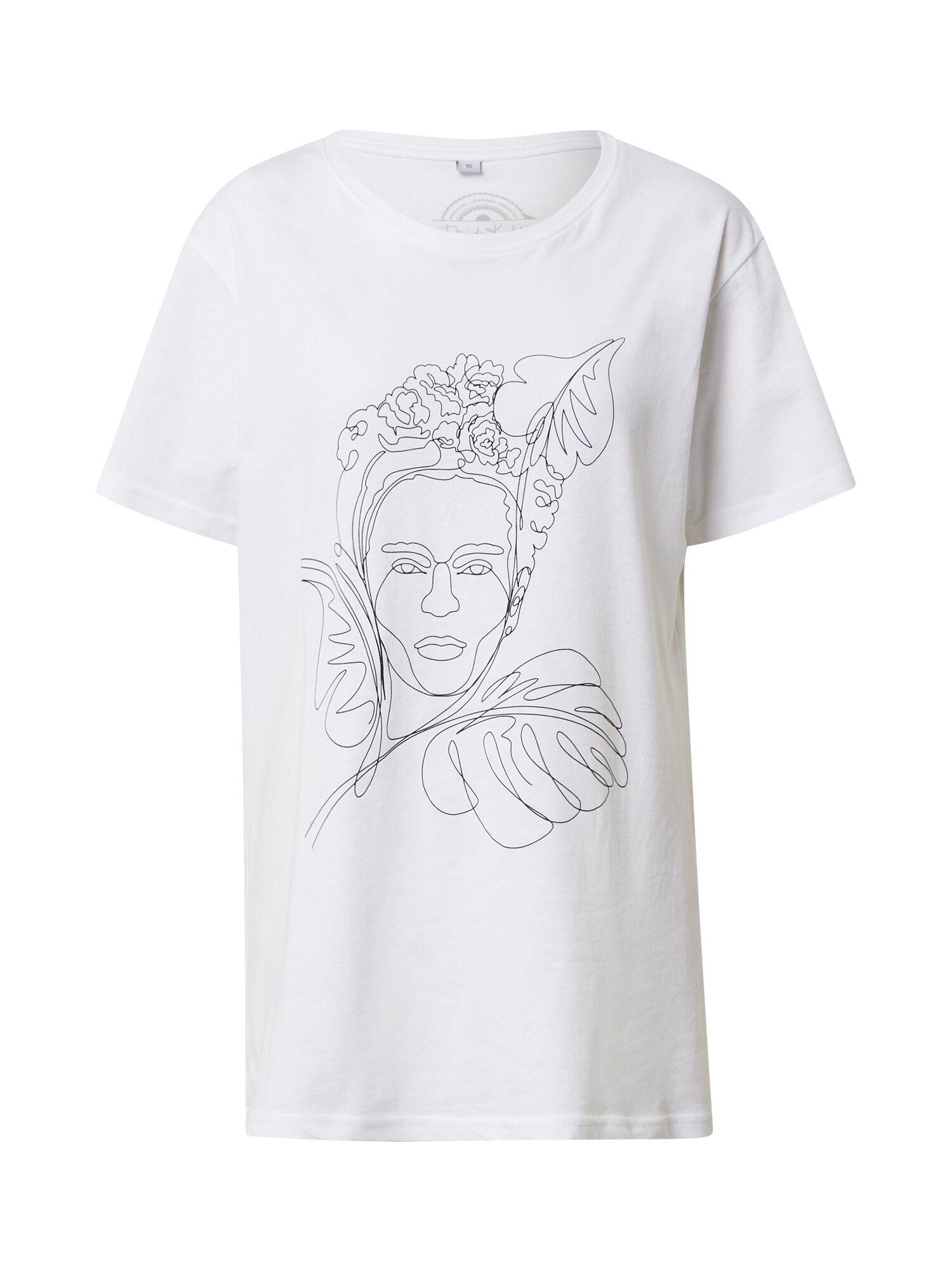 Merchcode Maglietta 'Frida Kahlo' Bianco