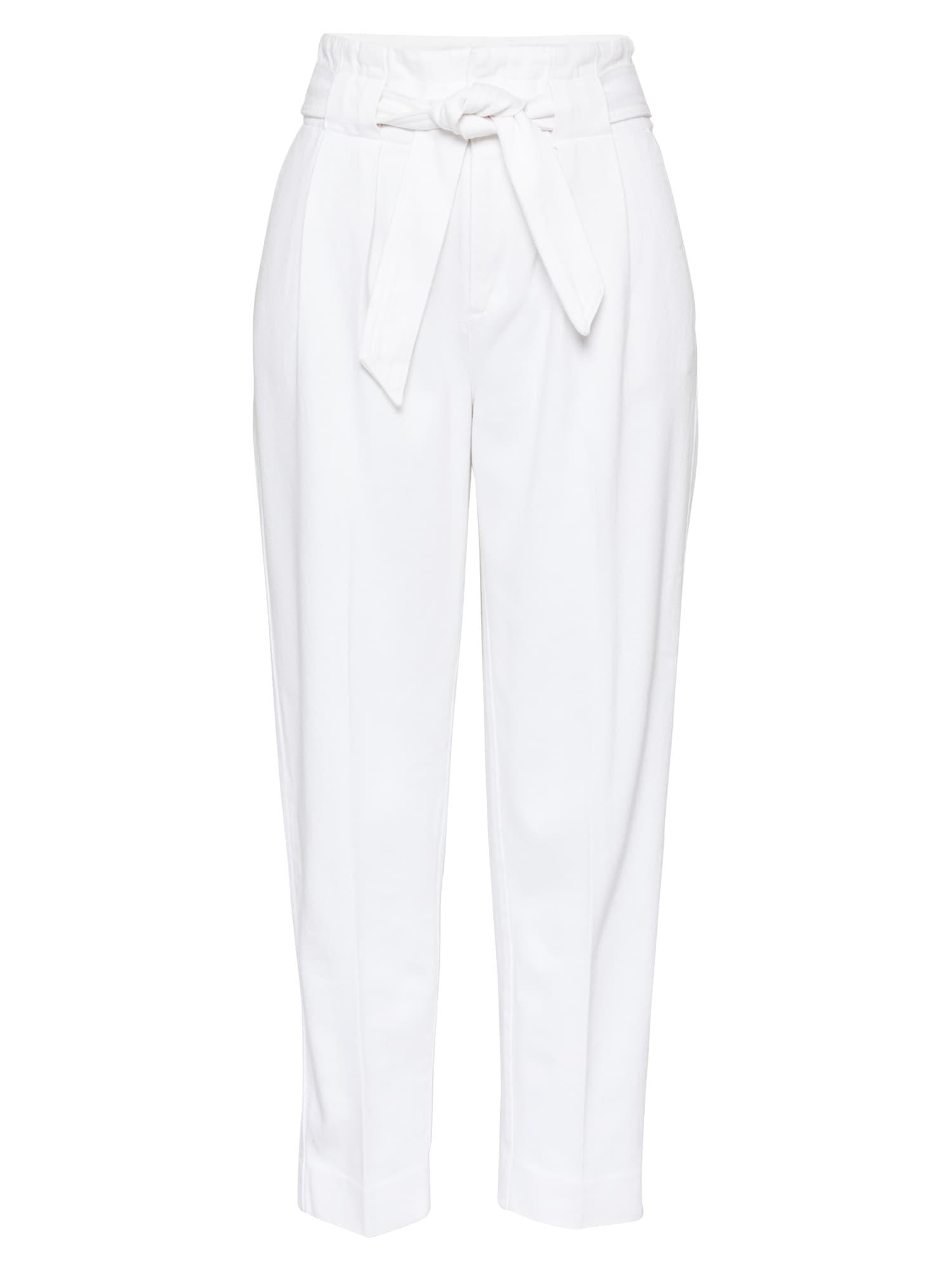 Banana Republic Jeans con pieghe Bianco