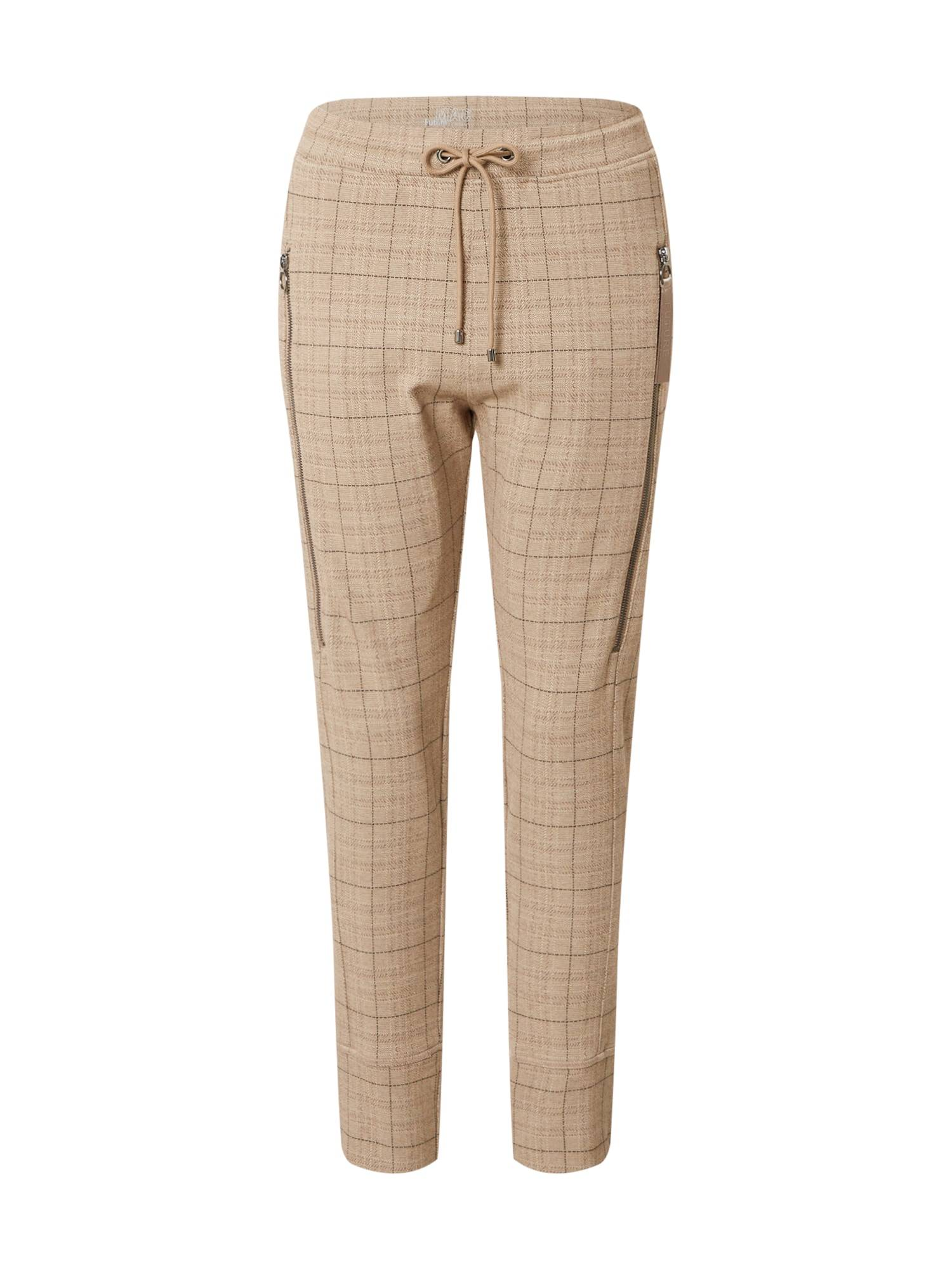 MAC Pantaloni 'FUTURE 2.0' Marrone