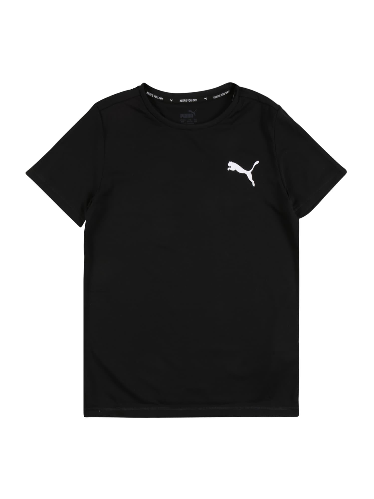 puma maglietta 'active' nero