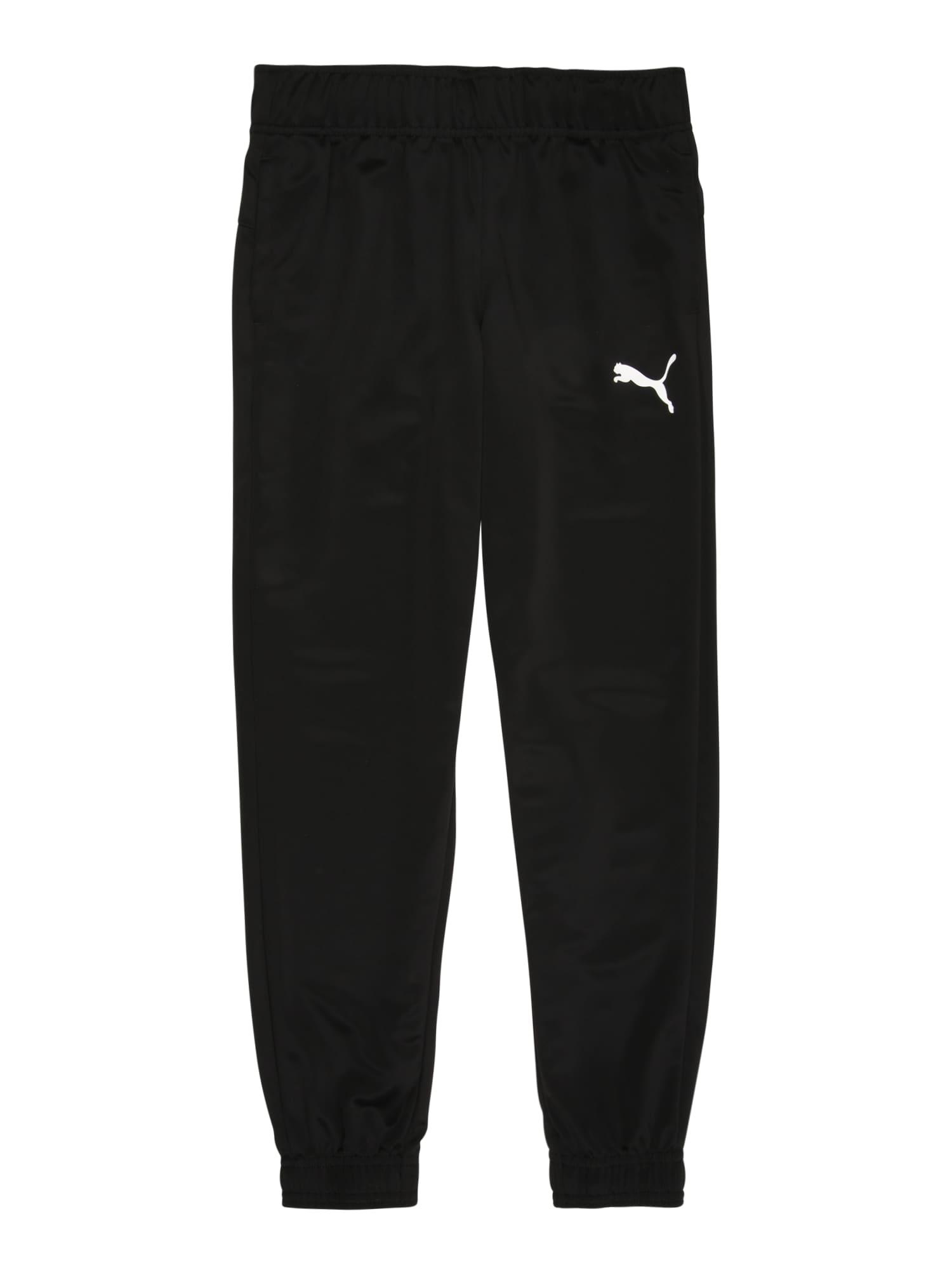 puma pantaloni 'active' nero