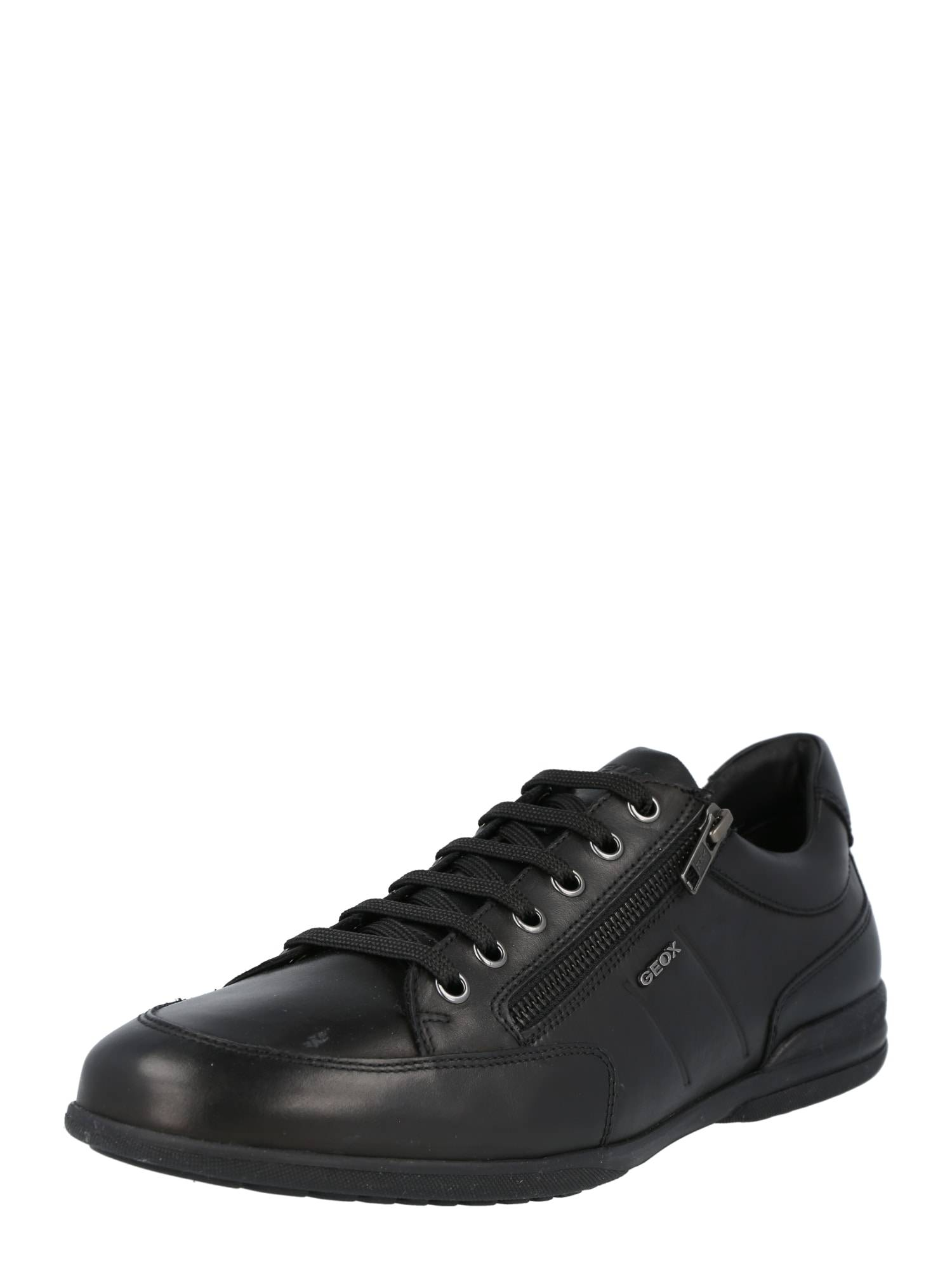 geox scarpa stringata sportiva 'timothy' nero