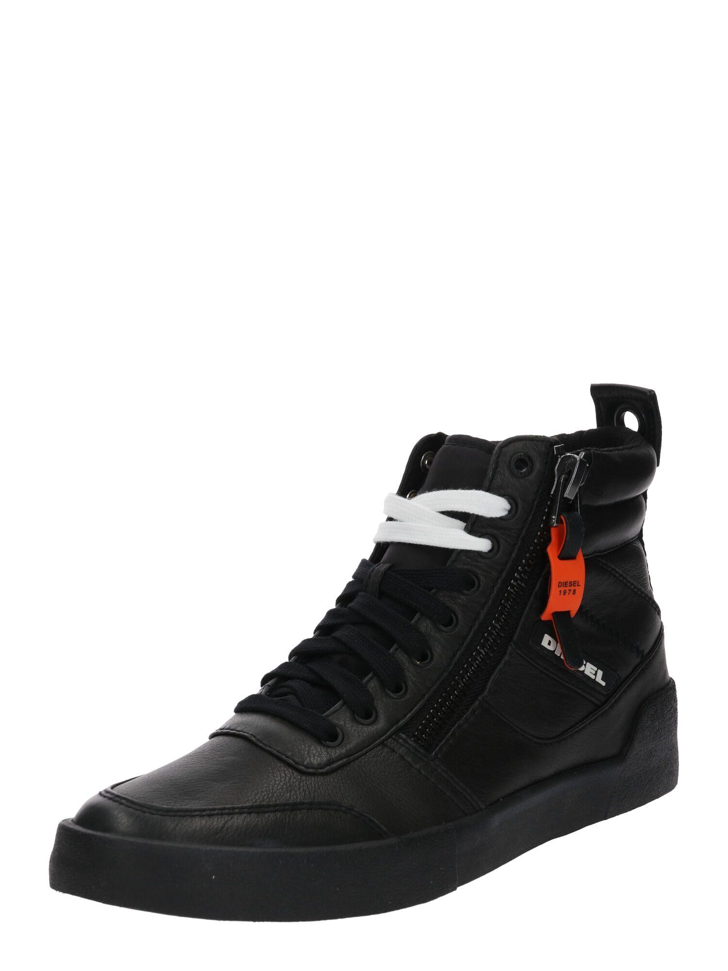 DIESEL Sneaker alta 'D-Velows' Nero