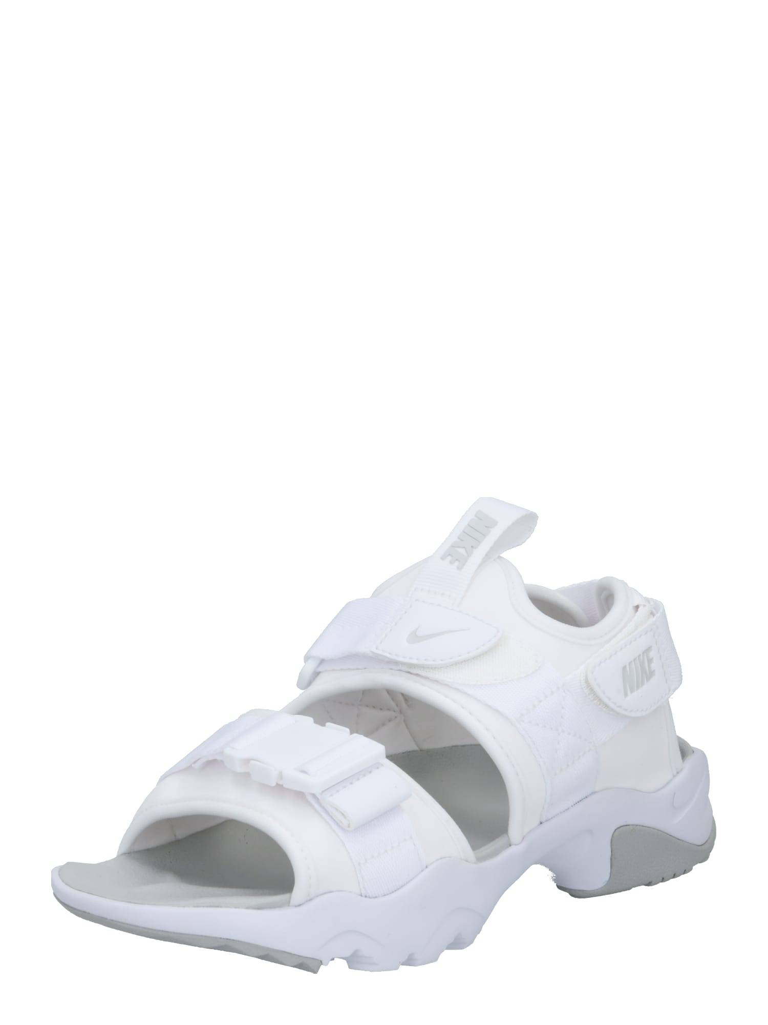 nike sportswear sandalo da trekking 'canyon' bianco