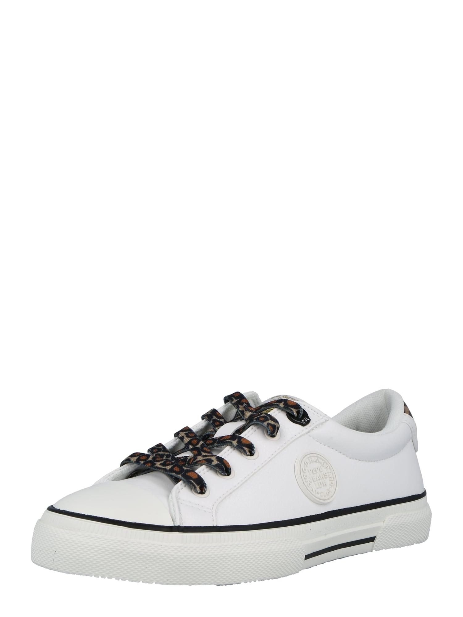 Pepe Jeans Sneaker bassa 'KENTON PATTY' Bianco