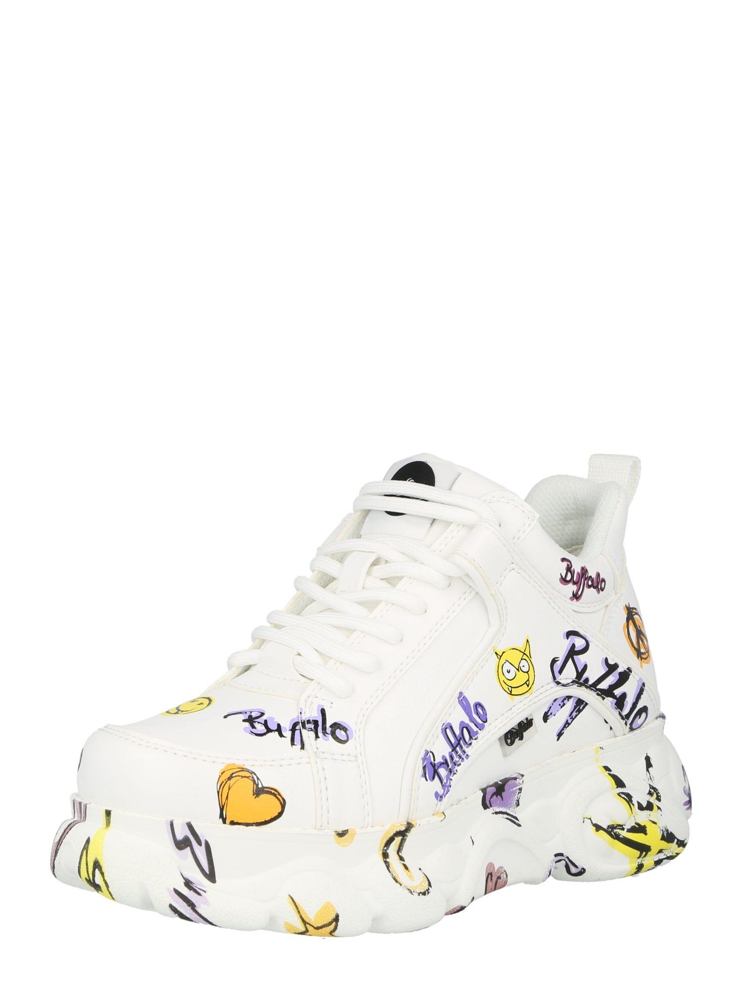 BUFFALO Sneaker bassa 'CORIN' Colori Misti, Bianco