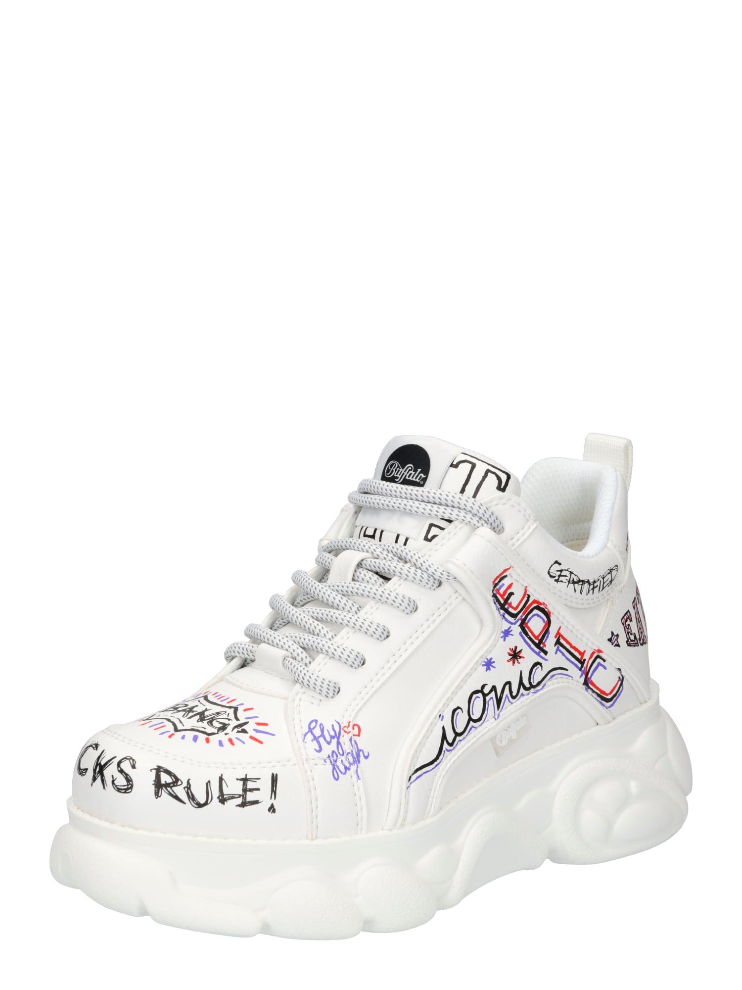 BUFFALO Sneaker bassa 'CORIN' Bianco