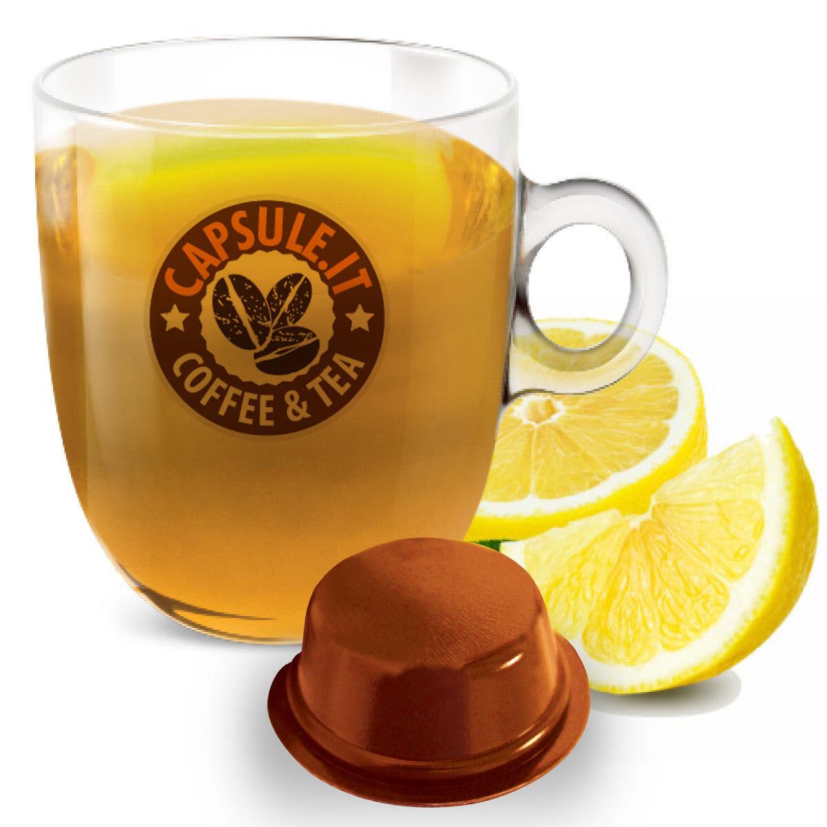 Caffè Bonini 10 Capsule Tè Limone compatibili con sistema Lavazza a Modo Mio