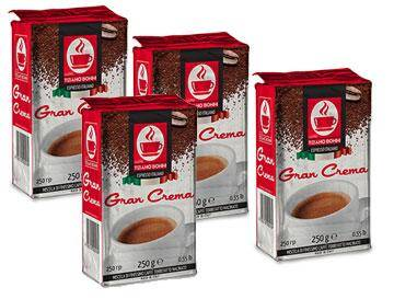 caffè bonini 1 kg gran crema per caffè macinato