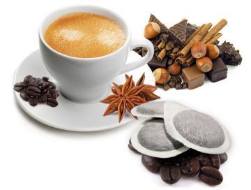 caffè bonini 1 confezione kit assaggio aromatizzati per ese 44mm