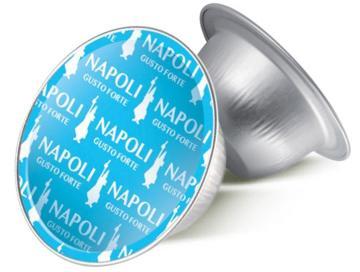 Bialetti 80 capsule Napoli per Bialetti Mokespresso