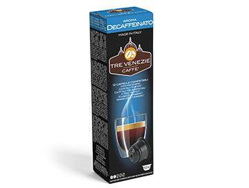 Caffè Tre Venezie 10 capsule Decaffeinato per Caffitaly Professional